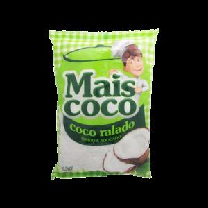 Coco Ralado Úmido Adoçado Mais Coco 1Kg