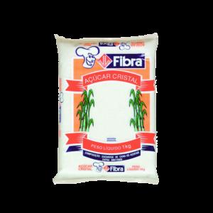 Açúcar Cristal Fibra 10X1Kg
